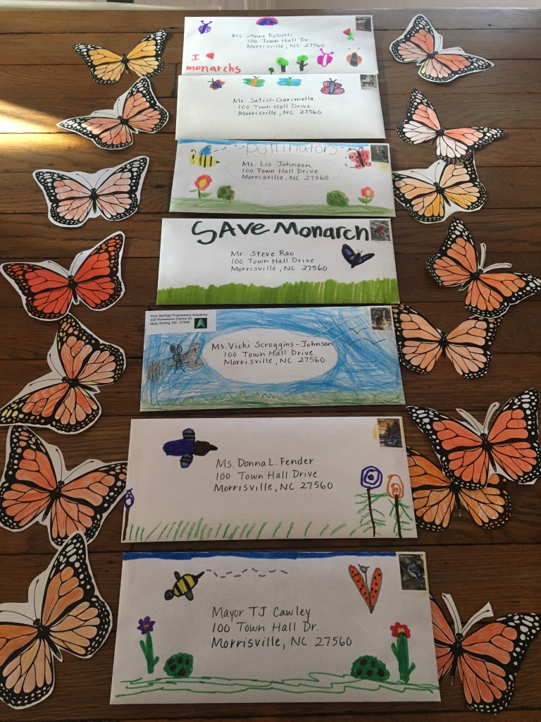 Student Letters to Morrisville Council