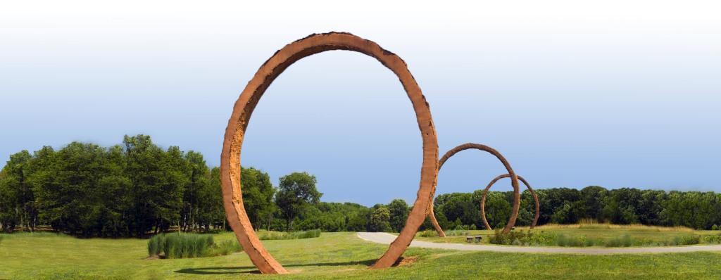 Gyre rings at NCMA Park
