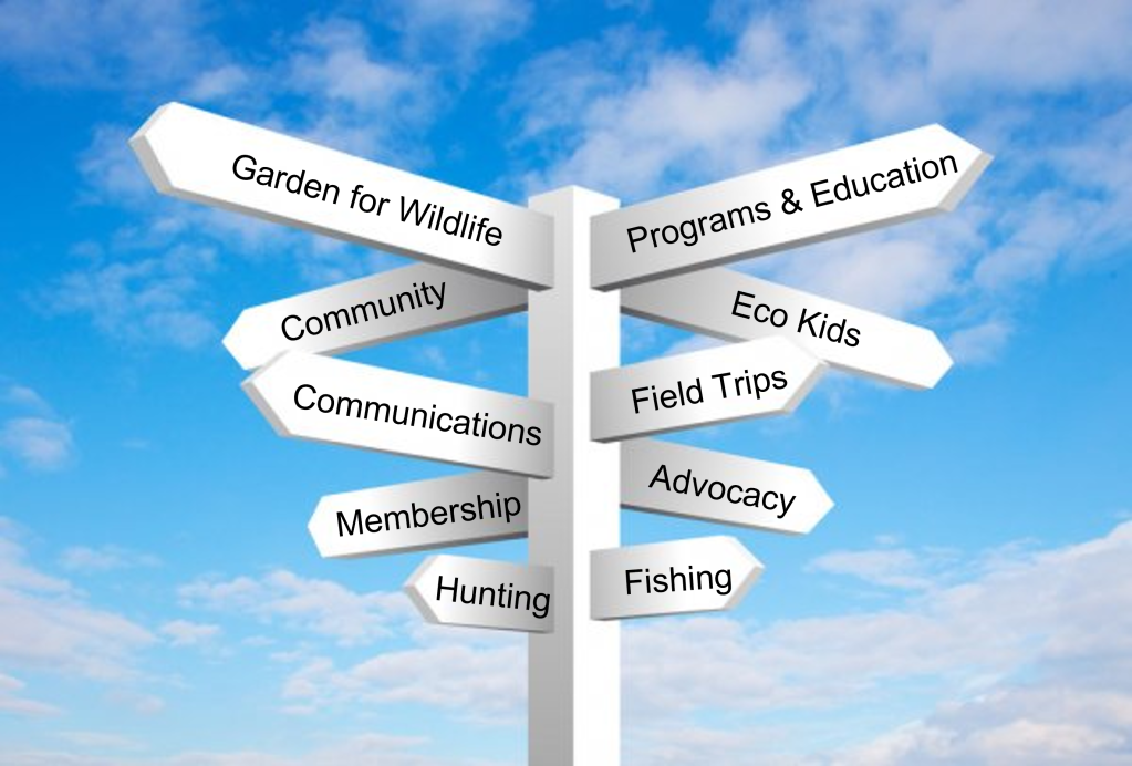 Committees signpost