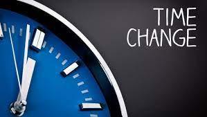 time change - clock